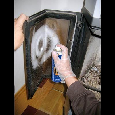 Kandallóüveg tisztítóhab