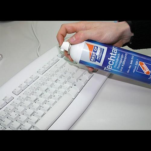 Sűrített levegős spray-Techtan, 500 ml