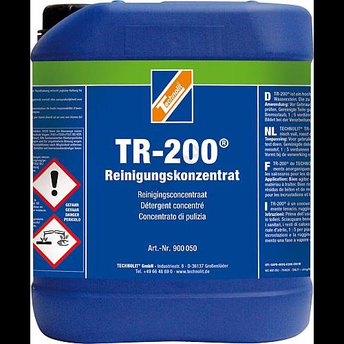 Vízkőoldó koncentrátum,  TR-200®