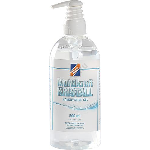 Kézfertőtlenítő gél - Kristall, 500ml